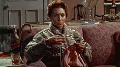 Mrs. Stephens knits /// Peeping Tom (1960)