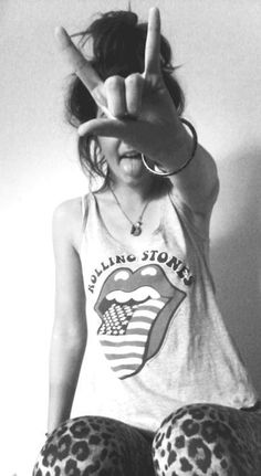ROLLING STONES! Love it. #style #fashion #clothing