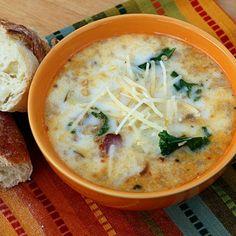 Olive Garden Tuscana Soup