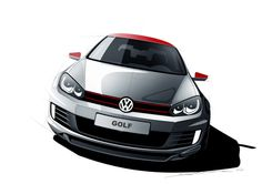 VW Golf tuning on Behance
