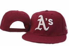 New Era MLB Oakland Athletics Snapback Hats Caps Red 3803! Only $7.90USD