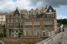abandoned hotel, Clevedon by Newport