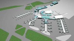 Dublin Airport of the near future...