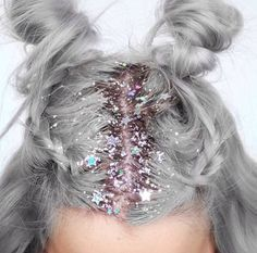 style-and-beauty: Glitter Roots