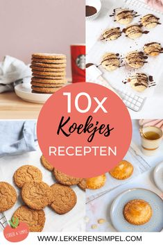 Delicious Cookie Recipes, Sweet Recipes, Let Them Eat Cake, Cheesecakes, Gingerbread Cookies, Smoothies, Tasty, Sweets, Homemade
