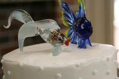 Feesh cake topper