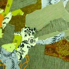 Layered wallcovering www.celestekorthasestudio.com