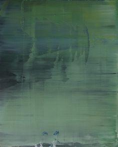 """Koen Lybaert; Oil 2013 Painting """"abstract N° 774"""""""