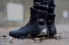 """205638af4ab9 Nike Kobe 9 High KRM EXT """"Black Mamba†(Detailed Pictures. Black  MambaNike ..."""