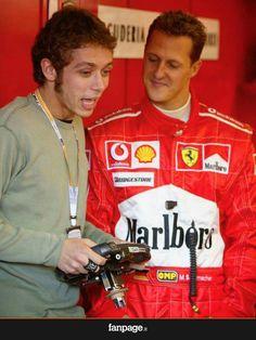 Vale && Michael Schumacher