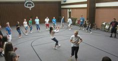 lds blogs, sisters in zion, lds yw, lds, yw camp, crafts, relief society, primary, mutual theme Mutual Activities, Youth Group Activities, Young Women Activities, Physical Education Games, Team Building Activities, Youth Groups, Therapy Activities, Gym Games, Camping Games