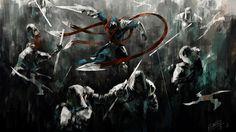 League of Legends Talon Cool Wallpaper HD Art 1920×1080