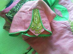 Saree Blouse Patterns, Sari Blouse Designs, Blouse Styles, Neckline Guide, Simple Sarees, Blouse Models, Necklines For Dresses, My Boutique, Couture