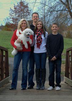 Family Christmas Photo, Christmas Photo, Dog Christmas Photo