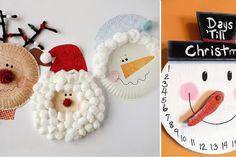 20 beaux bricolages d'hiver pour enfants, à faire avec des assiettes de carton!