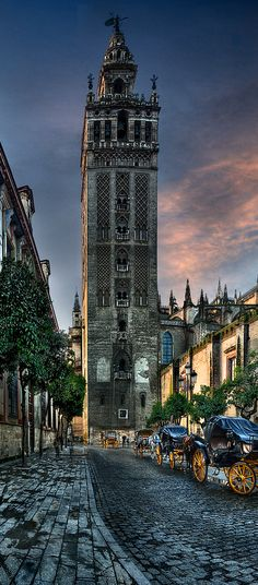 The Giralda , Seville, Spain