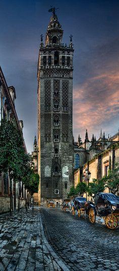 La Giralda,  Sevilla,  España.