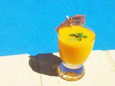 Mango & Peach smoothie- Love it, so tasty!