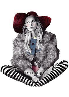 ania Label Fashion Illustrations