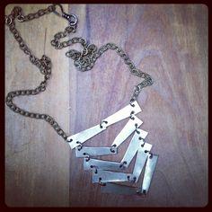 Chevron DIY Necklace