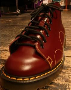 I had these Monkey Boots, but Fire Engine Red