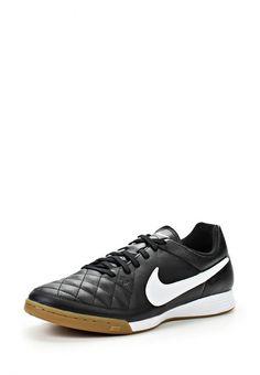 Бутсы зальные Nike / Найк мужские. Цвет: черный. Материал: искусственная кожа, натуральная кожа. Сезон: Осень-зима 2014/2015. С бесплатной доставкой и примеркой на Lamoda. http://j.mp/1mZaLL3