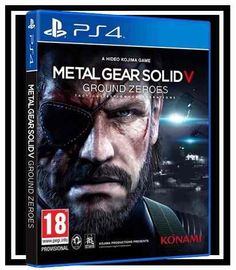 metal gear solid 5 ground zeroes - ps4, playstation m física