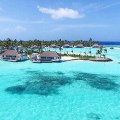 The Maldives Island - Cheval Blanc Randheli #Maldives ( top resort!! )