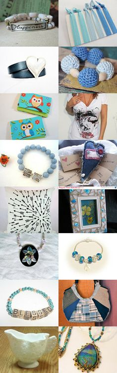 Happiness Is... by Luisa Perez on Etsy--Pinned with TreasuryPin.com #Treasury #Jewelry