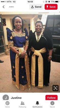 African Attire, African Wear, African Fashion, African Culture, Traditional Dresses, Uganda, Dressing, Feminine, Saree