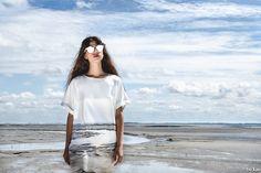 BLENDSCAPES Wad Dress  Fashion Design: Elsien Gringhuis Photography: Tse Kao Model: Kelly Noa Estelle Concept: Elsien Gringhuis & Tse Kao