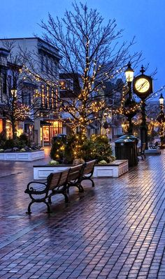 ~Cape May Christmas, New Jersey, U.S~  Merry Christmas Cape May Pinterest Friends!