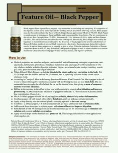 Black Pepper Young  Living