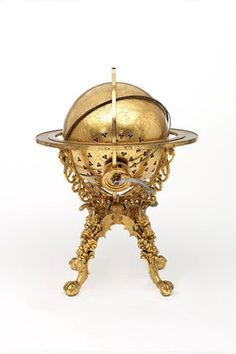 ca. 1584, [German made mechanical clock globe], Georg Roll and Johannes Reinhold