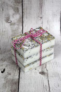 DIY Rosemary Mint Soap