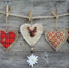 4 x Single Table Paper Napkins / Craft / Party/ for Decoupage / MIX HEARTS
