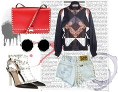 """Rockstar actitud"" by mabelfs on Polyvore"