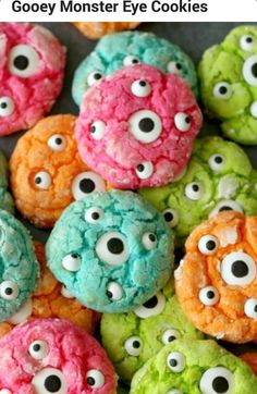 ULTIMATE OOYE GOOEY MONSTER EYE COOKIESthanx hope u n ur kids luvvved it♥♥