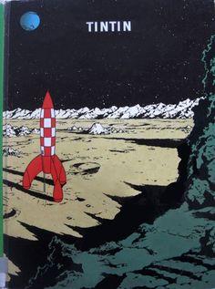 Les Aventures de Tintin - Album Imaginaire - On a Marché sur la Lune