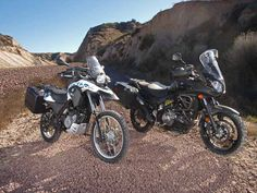BMW SERTAO VS SUZUKI V-STROM   News   Dirt Bike Magazine