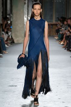 The Prettiest Dresses From Fashion Week #refinery29  http://www.refinery29.com/2014/10/75461/best-dresses-fashion-week-2014#slide36  We've been dreaming about this Proenza Schouler fringe from the moment we saw it.