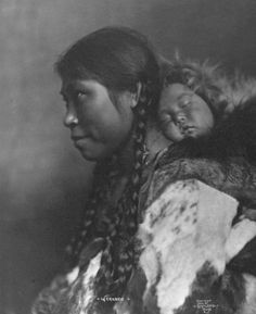 1905 Eskimo Mother and Child