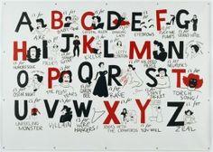 Joan Crawford Alphabet by Donald Urquhart