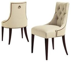 Thomas Pheasant Dining Chair - traditional - dining chairs and benches - other metros - Kohler Interiors