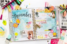 Bea Valint: Hello November / American Crafts DT