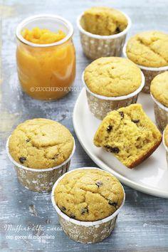 vegan-vegetarian blog sugar and violas: Muffins Vegan pumpkin and chocolate chips