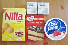 BEST BANANA PUDDING POKE CAKE (+Video) - dessert Best Banana Pudding Poke Cake is an easy original recipe made with cake mix poked with banana pudding, topped with Cool Whip and crushed Nilla Wafers! Poke Cake Recipes, Poke Cakes, Banana Recipes, Cupcake Cakes, Dessert Recipes, Cupcakes, Pudding Recipes, Sweets Recipe, Cake Truffles