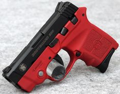 Smith & Wesson BodyGuard 380 Red Blaze Edition 380 ACP Pistol, Laser