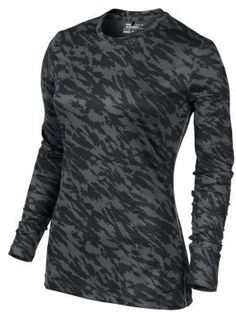 Nike Pro Core Fitted Long-Sleeve Women's Golf Shirt