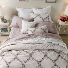 LC Lauren Conrad Floral Trellis Bedding Collection | Available at Kohl's